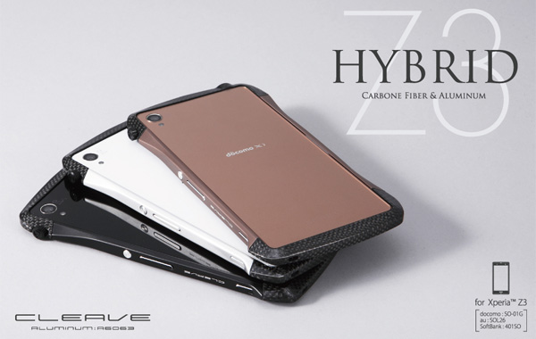 CLEAVE Hybrid Bumper for Xperia (TM) Z3 SO-01G/SOL26/401SO