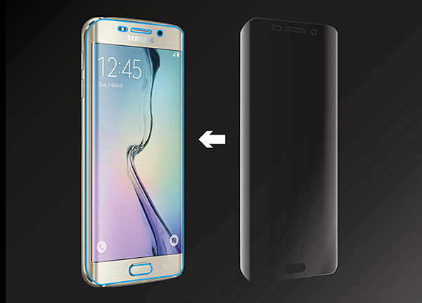 AMAZINGthing Ultra-Clear Curved Screen Protector for Galaxy S6 edge SC-04G/SCV31