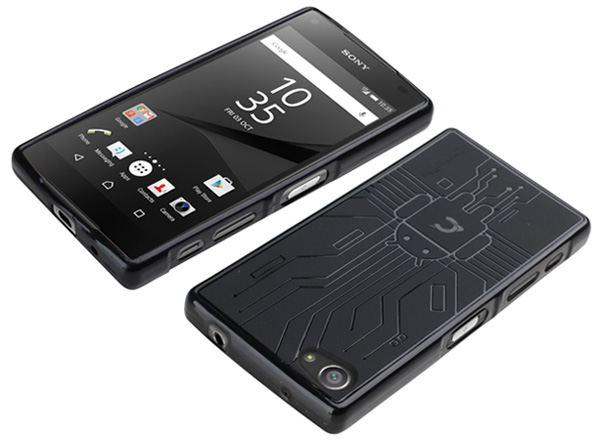 Cruzerlite Bugdroid Circuit Case for Xperia (TM) Z5 Compact SO-02H