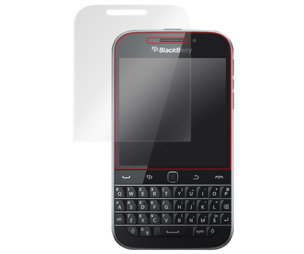 GLASS PRO+ Premium Tempered Glass Screen Protection for BlackBerry Classic SQC100