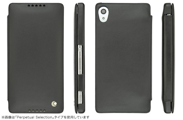 Noreve Patine Selection  レザーケース for Xperia (TM) Z4 SO-03G/SOV31/402SO 横開きタイプ