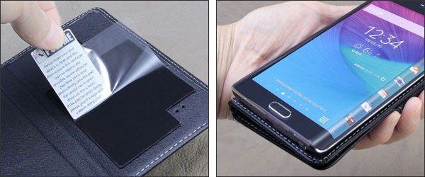PDAIR レザーケース for GALAXY Note Edge SC-01G/SCL24 横開きタイプ