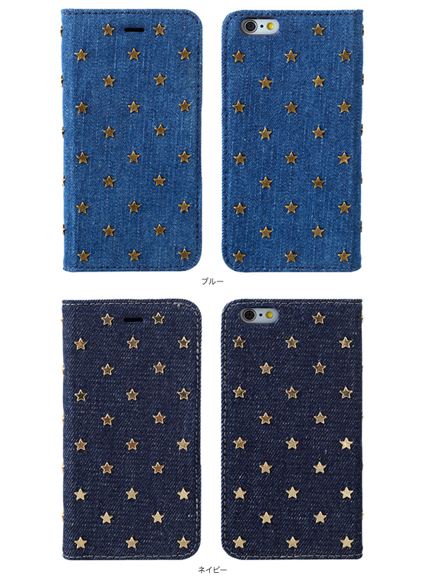 カラー SWEET LABEL Baby Stars Case for iPhone 6s/6