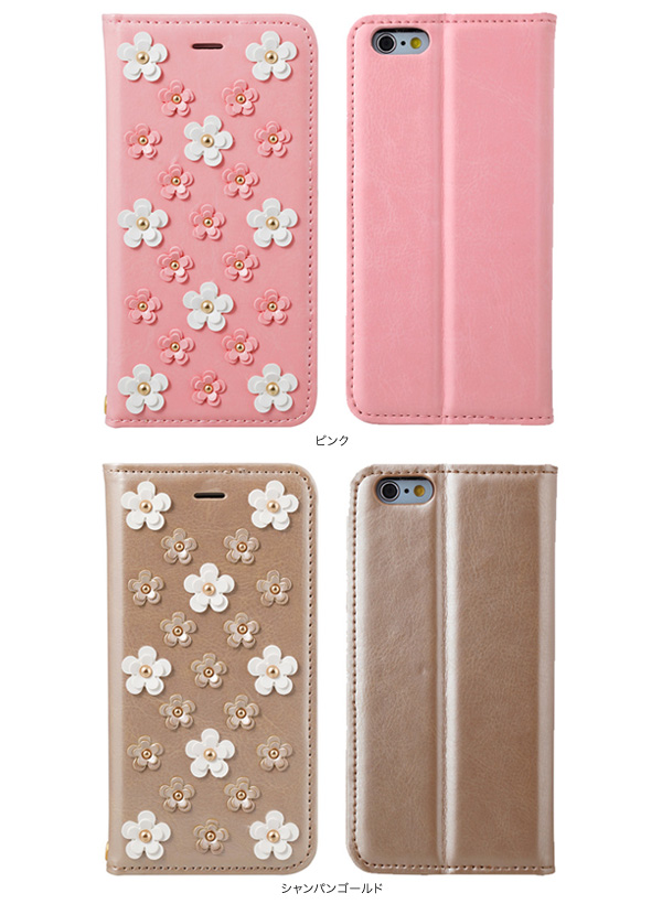 カラー Sinra Design Works Daisy & Daisy Case for iPhone 6s/6