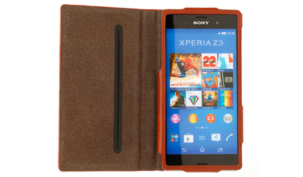 Vintage Hardcover Case for Xperia (TM) Z3 SO-01G/SOL26/401SO