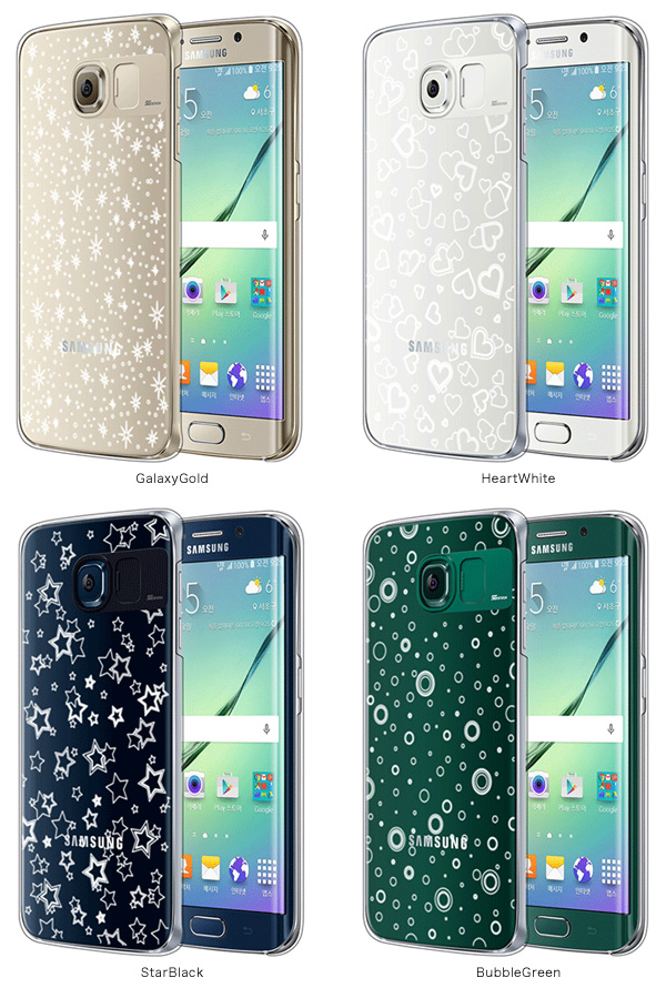 カラー SG Lighting Clear イルミネーションケース for Galaxy S6 edge SC-04G/SCV31