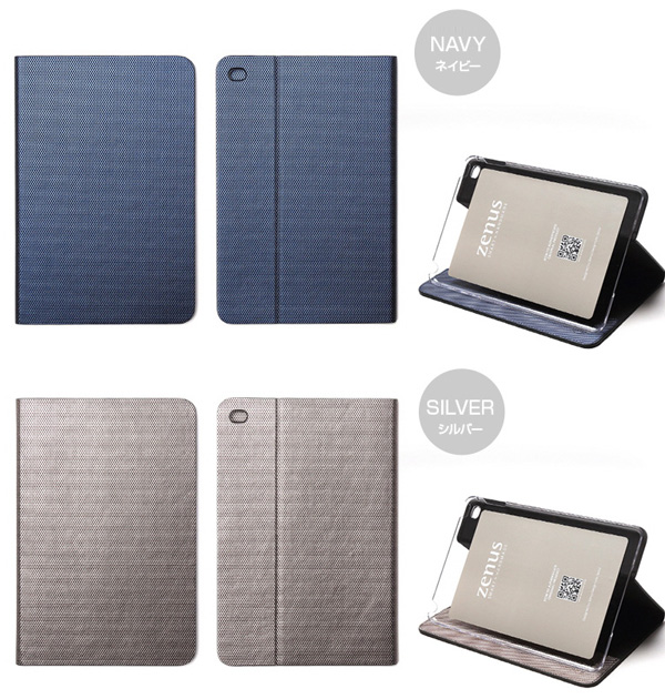 カラー Zenus Metallic Diary for iPad mini 4