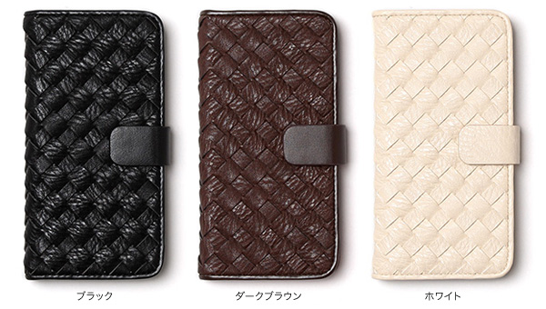 カラー Zenus Mesh Diary for iPhone 6s/6