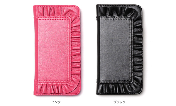 カラー Zenus Ruffle Diary for iPhone 6s/6