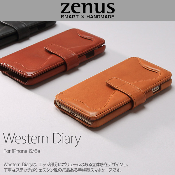 Zenus Western Diary for iPhone 6s/6