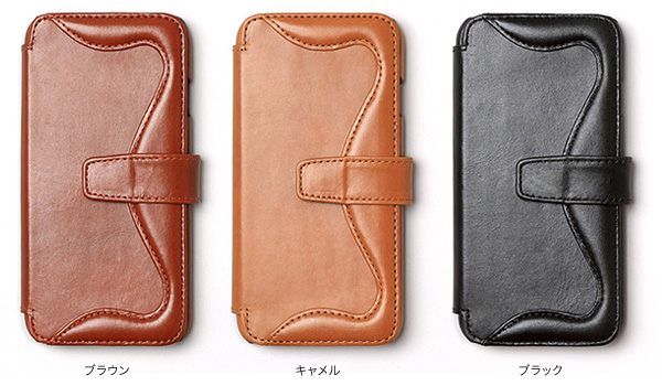 カラー Zenus Western Diary for iPhone 6s/6