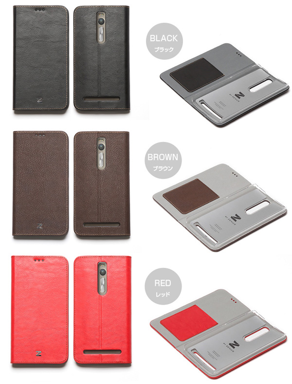 カラー Zenus Buffalo Diary for ASUS ZenFone 2