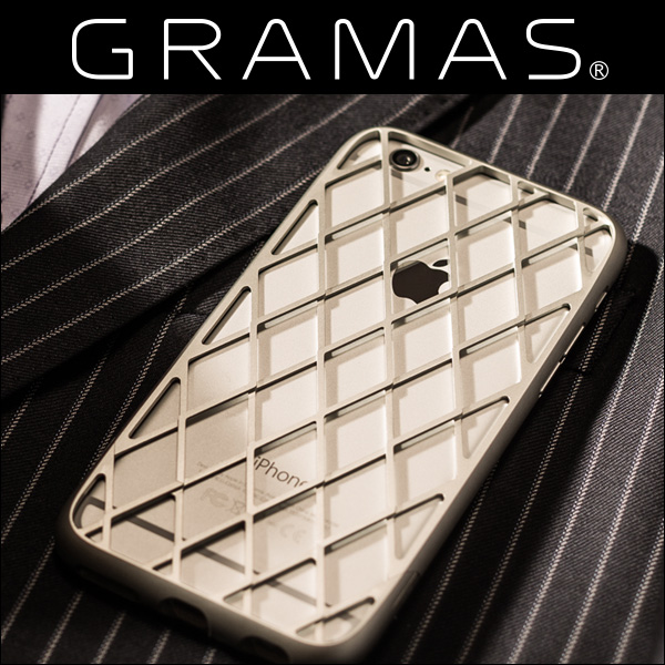 GRAMAS Meister Ultra Duralumin Case MIMC9006 for iPhone 6s/6