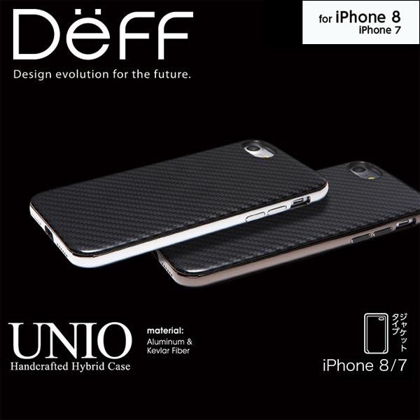 HYBRID Case UNIO Kevlar for iPhone 8 / iPhone 7