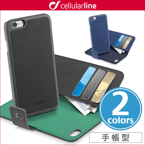 cellularline Combo セパレート手帳型ケース for iPhone 8 / iPhone 7