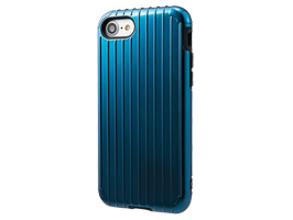 "GRAMAS COLORS ""Rib"" Hybrid case CHC436 for iPhone 8 / iPhone 7(ネイビー)"