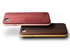 HYBRID Case UNIO Wooden for iPhone 8 / iPhone 7