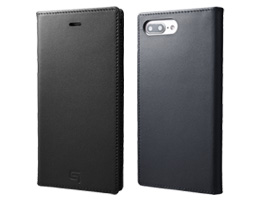 GRAMAS Full Leather Case GLC636P for iPhone 8 Plus / iPhone 7 Plus(ブラック)
