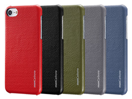 monCarbone HOVERSKIN Napa Leather for iPhone 8 Plus / iPhone 7 Plus