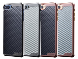 monCarbone KHROME Gunmetal for iPhone 8 Plus / iPhone 7 Plus