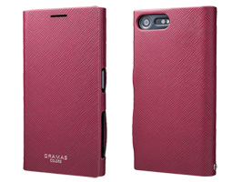 "GRAMAS COLORS ""EURO Passione"" Leather Case CLC2146 for Xperia X Compact SO-02J(レッド)"