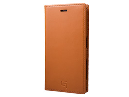 GRAMAS Full Leather Case GLC6126 for Xperia X Compact SO-02J(タン)