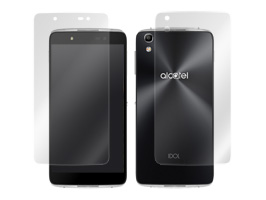 OverLay Brilliant for ALCATEL IDOL 4『表面・背面セット』