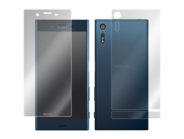 OverLay Eye Protector for Xperia XZ SO-01J / SOV34 『表・裏(Brilliant)両面セット