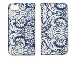 Zenus Denim Paisley Diary for iPhone 8 / iPhone 7