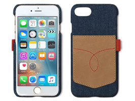 Zenus Denim Vintage Pocket Bar for iPhone 8 / iPhone 7