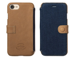 Zenus Denim Vintage Pocket Diary for iPhone 8 / iPhone 7