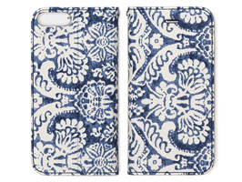 Zenus Denim Paisley Diary for iPhone 8 Plus / iPhone 7 Plus