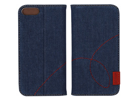 Zenus Denim Stitch Diary for iPhone 8 Plus / iPhone 7 Plus