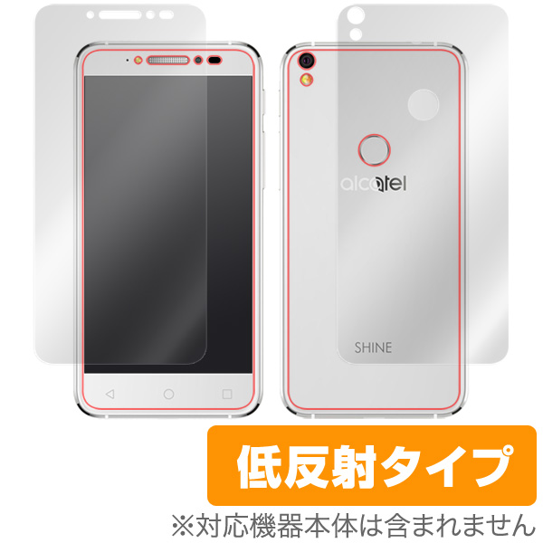 OverLay Plus for ALCATEL SHINE LITE 『表面・背面セット』