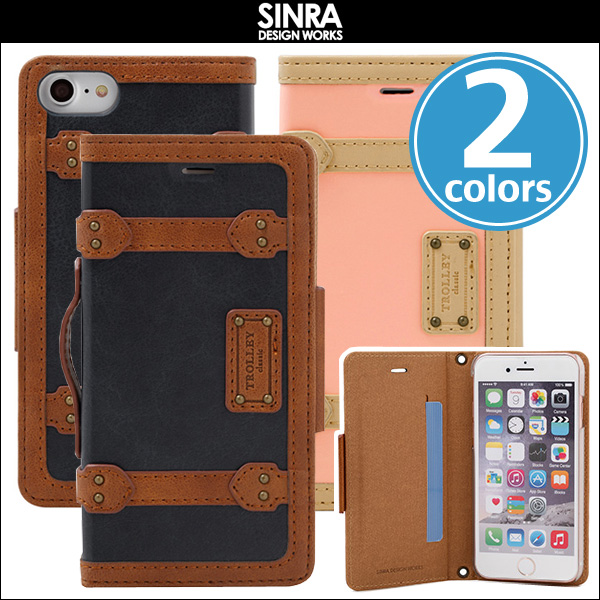 Sinra Design Works Trolley Case Classic for iPhone 8 / iPhone 7