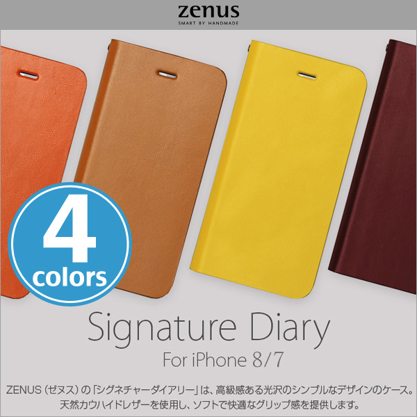 Zenus Signature Diary for iPhone 7