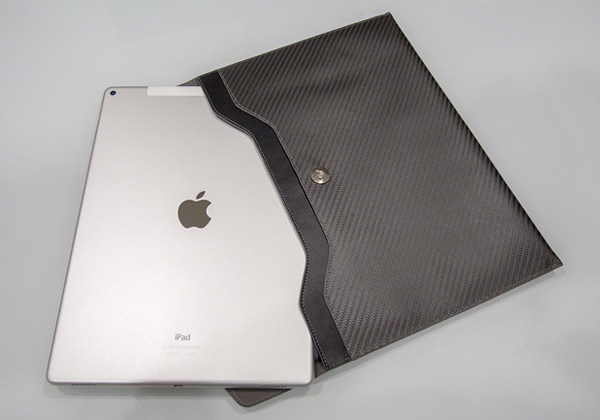monCarbone Carbon Fiber Sleeve Sleek Elite for iPad Pro 12.9インチ