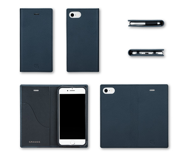 GRAMAS Shrunken-calf Leather Case for iPhone 7
