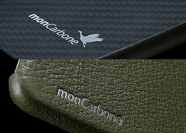 monCarbone HOVERSKIN Napa Leather for iPhone 7