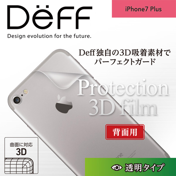 PROTECTION 3D FILM for iPhone 7 Plus(背面用)