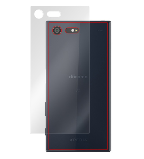OverLay Brilliant for Xperia X Compact SO-02J 裏面用保護シート のイメージ画像