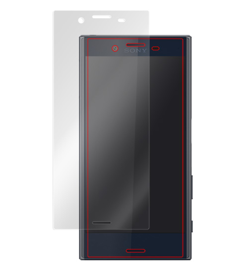 OverLay Brilliant for Xperia X Compact SO-02J 表面用保護シート のイメージ画像