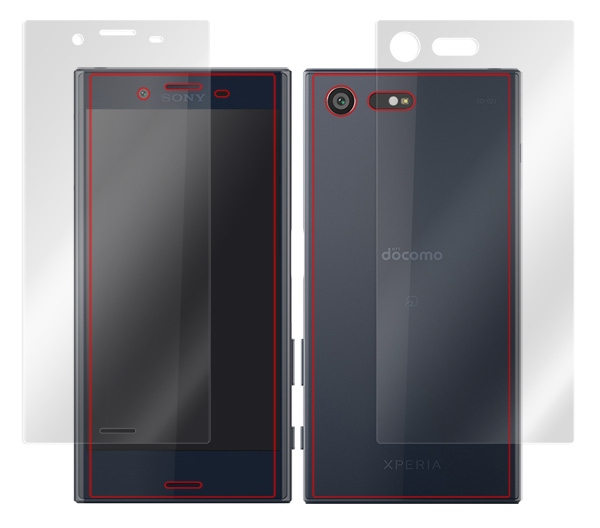 OverLay Brilliant for Xperia X Compact SO-02J 『表・裏両面セット』 のイメージ画像