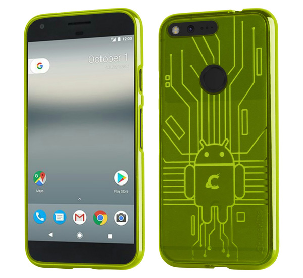 Cruzerlite Bugdroid Circuit Case for Google Pixel XL
