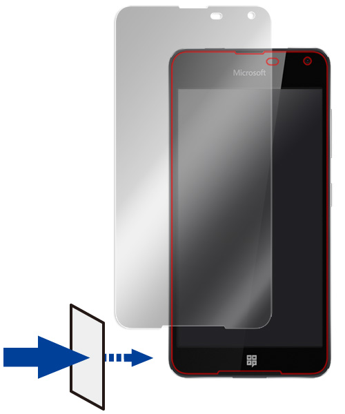 OverLay Eye Protector for Microsoft Lumia 650 のイメージ画像