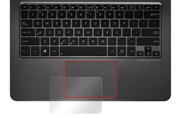 OverLay Protector for トラックパッド ASUS ZenBook UX305 のイメージ画像