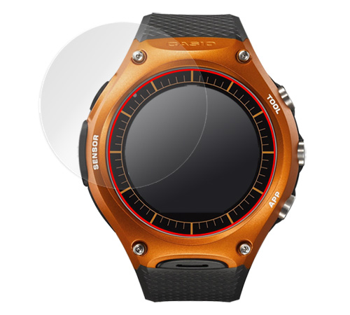 OverLay Plus for Smart Outdoor Watch WSD-F10(2枚組) イメージ画像