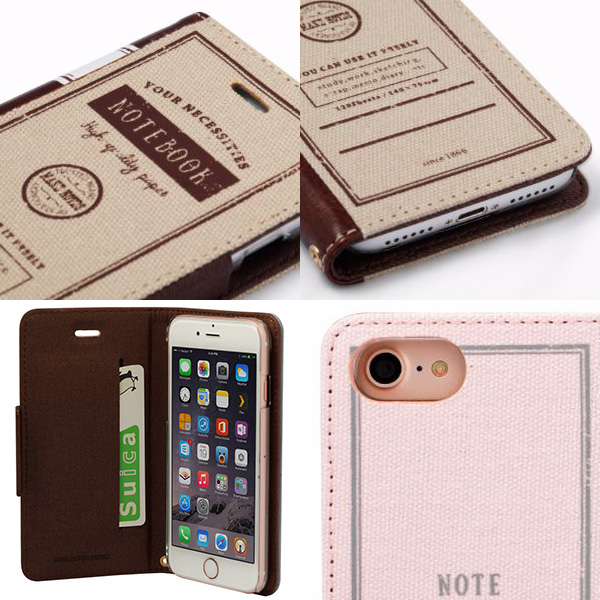 Notebook Case for iPhone 7