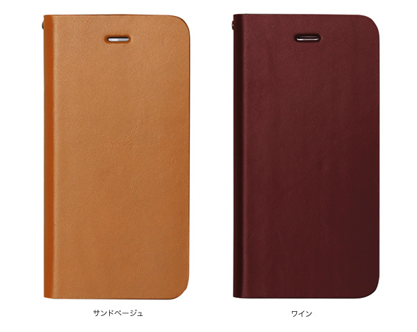 カラー Zenus Signature Diary for iPhone 7 Plus