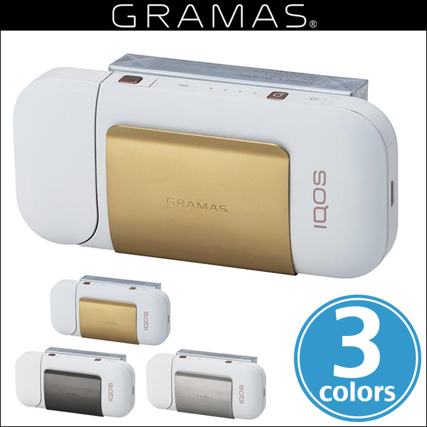 "GRAMAS ""CIG"" Clip Stainless steel for IQOS"